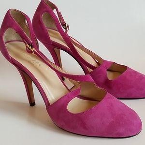 Talbots Suede Stilettos, Size 10AA